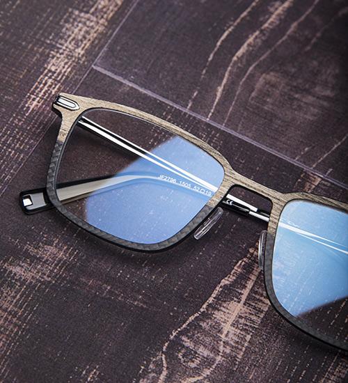 1882ad406647c4 CARBON WOOD van J.F. Rey  brillen voor de stijlvolle man